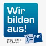 Logo als Partner der IHK Aachen
