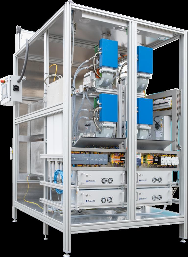 Darstellung eines Mikrowellenofens der aixcon PowerSystems GmbH